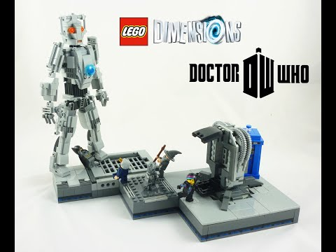 Lego Dimensions Doctor Who Cyberking Instructions Youtube