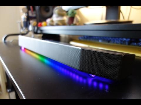 Creative Sound BlasterX Katana PC/TV soundbar review - By TotallydubbedHD - YouTube