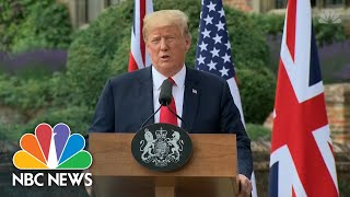 President Donald Trump: Russians Wish I 'Was Not Victor' In US Election | NBC News