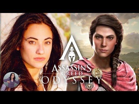 Assassin S Creed Odyssey Actor Melissanthi Mahut As Kassandra