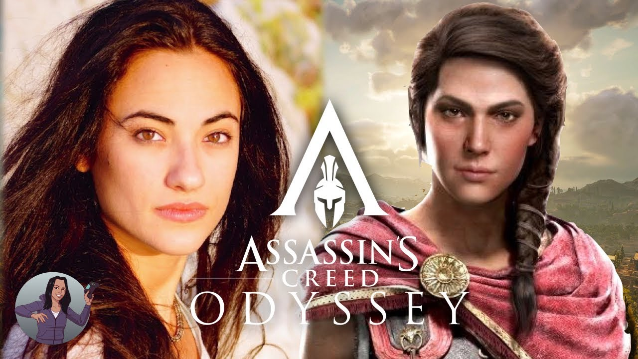 Assassin S Creed Odyssey Actor Melissanthi Mahut As Kassandra