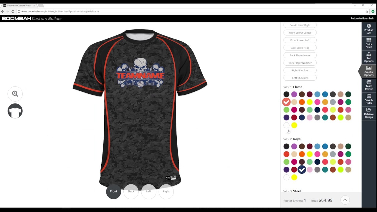 346e2abbde9b Men s Custom Slowpitch Softball Uniform Builder - Boombah INK - YouTube