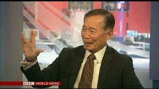 GEORGE TAKEI INTERVIEW - BBC NEWS