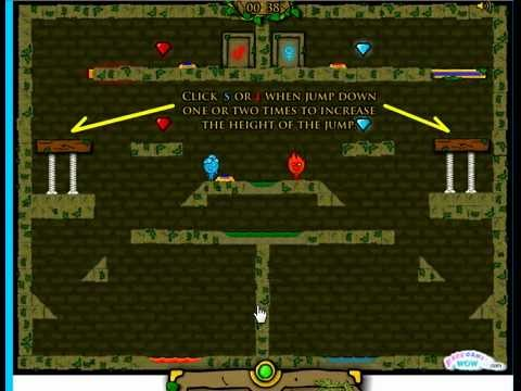 Fireboy & Watergirl: The Forest Temple - Online Game   Kizi