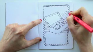 Draw Tip Tuesday - Colouring Pages!