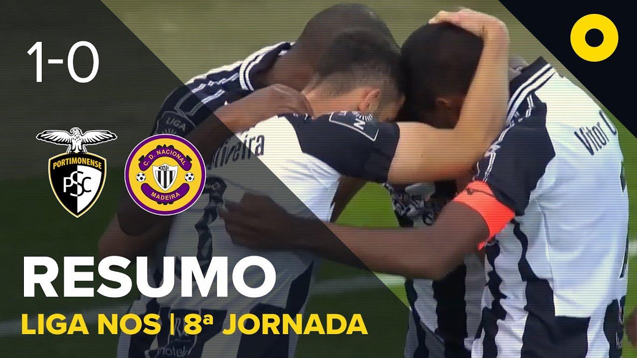 Портимоненси  1-0  Насьонал видео