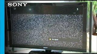 Bravia TV:  I have No Signal