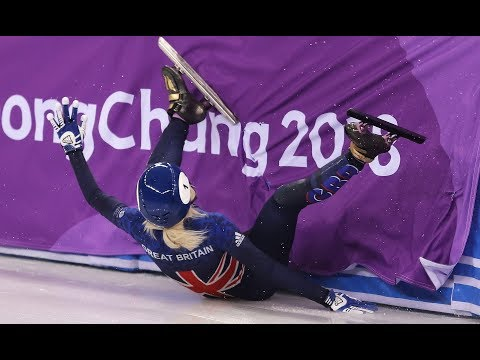 Winter Olympics: Elise Christie Crashes Out of 500m Short Track Final
