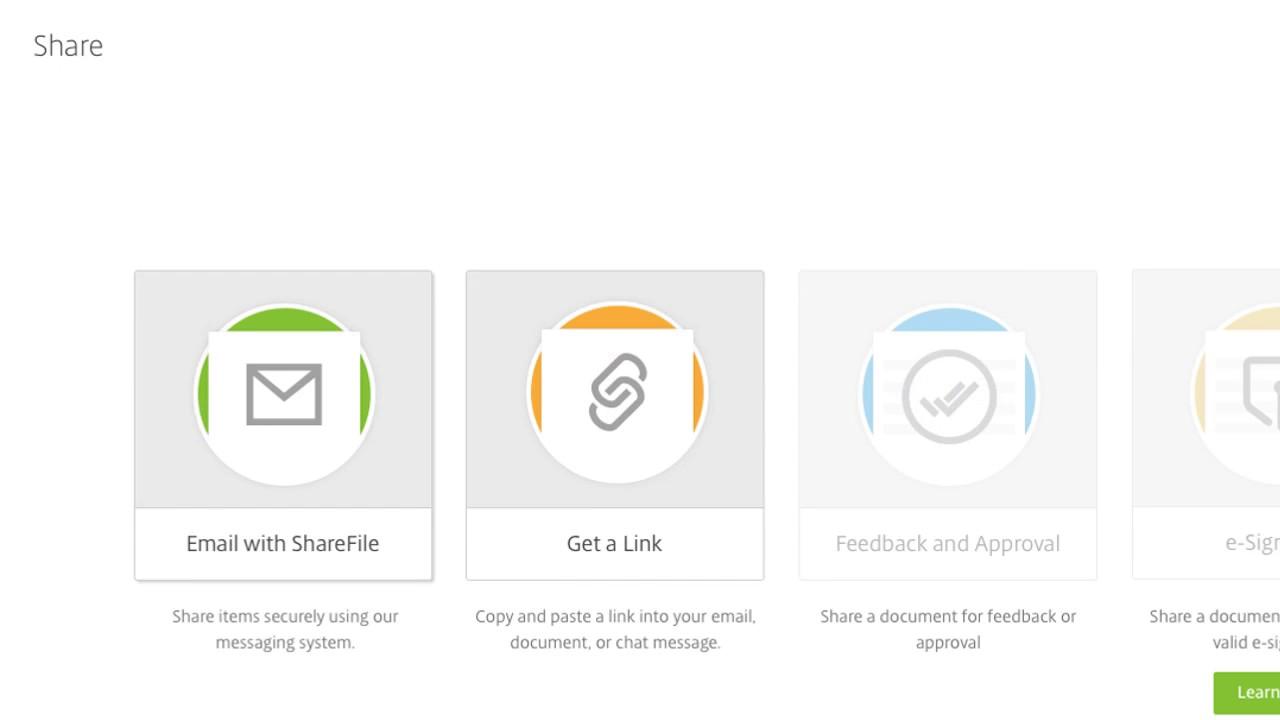 ShareFile: How to Share a File