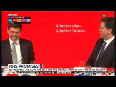 Ed Miliband & Andy Burnham Q & A, Pudsey, 11th April 2015