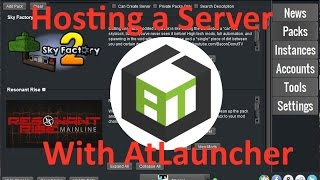 How to create a Server on AtLauncher