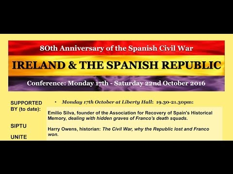Ireland and the Spanish Republic- On the 80th anniversary of the Spanish Civil War.