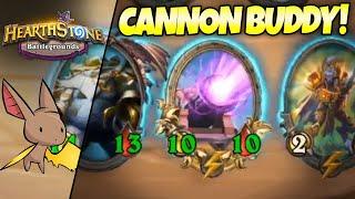 Chillin w/ Our Cannon Buddy | Firebat Hearthstone Battlegrounds