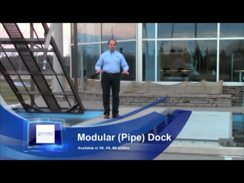 DockinaBox Types of Aluminum Docks. Boat Dock & Lift Products Ontario Canada