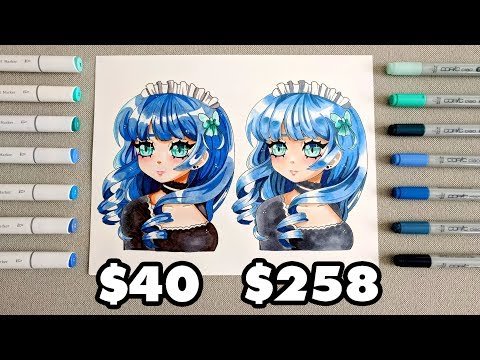 ☆ $40 vs $258 MARKER SET || Ohuhu vs Copic || Which is better?? ☆