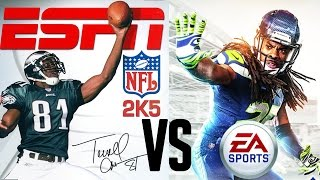 Madden 15 vs ESPN NFL 2k5 Breakdown Comparison