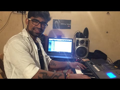 Recording Time Janny Dholi Music Work New Project on keyboard Home Studio