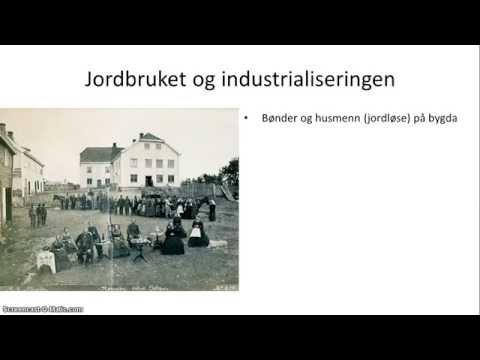 Norge, 1814-1905 - 4/5 - Industrialisering og demokratiutvikling