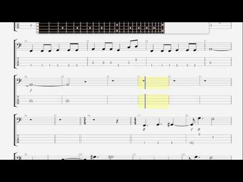 Blue Oyster Cult   Don 't Fear The Reaper BASS GUITAR TAB