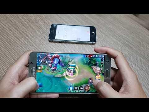 [Theo yêu cầu] Samsung Galaxy Note 5 Chơi Liên Quân Max Setting | 18 phút 6% Pin| Nóng 39.5 độ