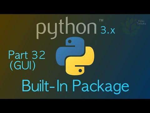 Membuat Aplikasi Windows Dengan Python