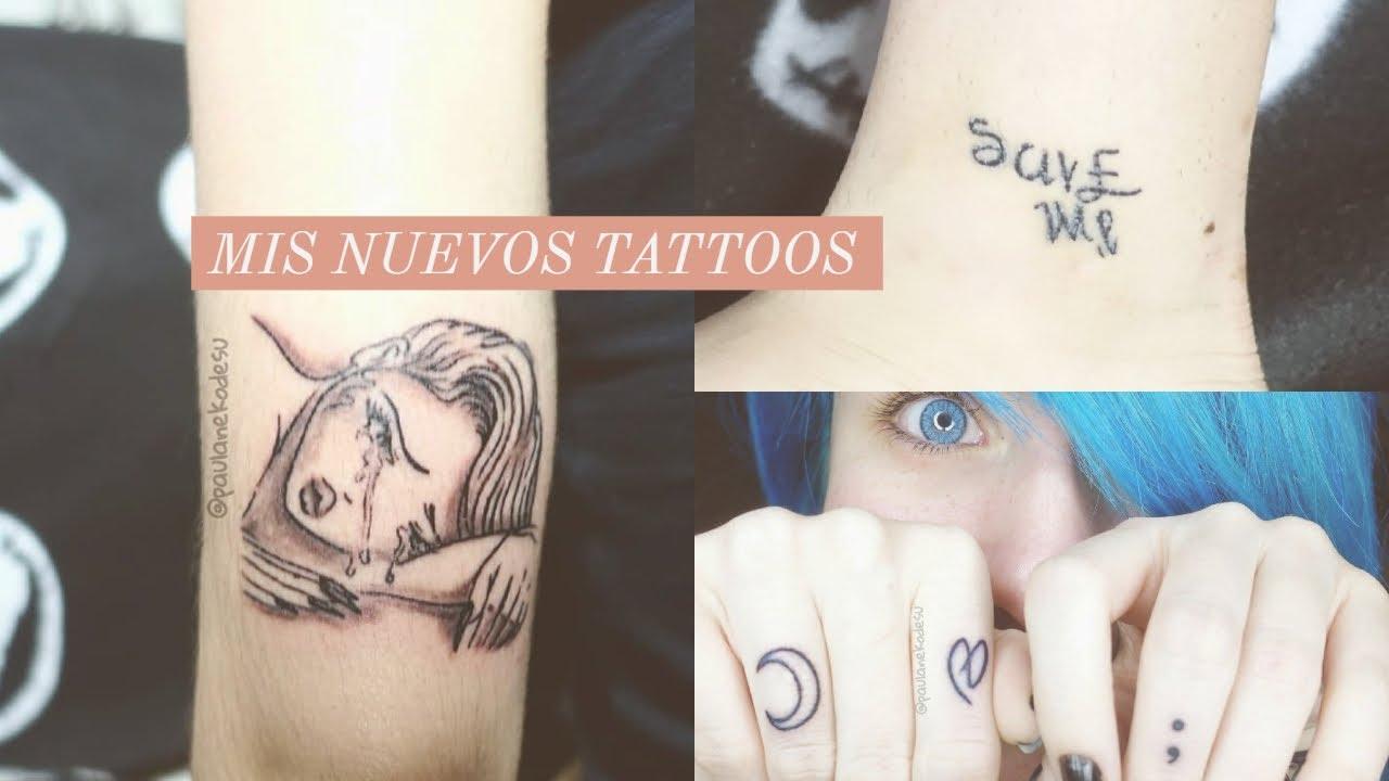 Mis Nuevos Tatuajes Y Su Grado De Dolor Me Tatúo Los Dedos
