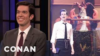What John Mulaney Is Planning For His Next Musical Sketch On SNL - CONAN on TBS
