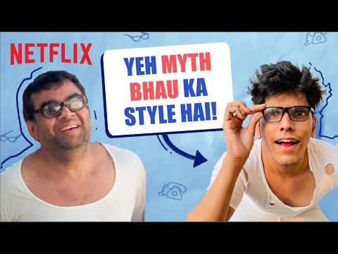 A Day In The Life Of Baburao ft. @Mythpat   Netflix India