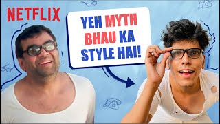A Day In The Life Of Baburao ft. @Mythpat | Netflix India