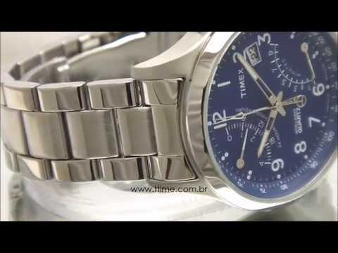 dc73a09d3a3 RELÓGIO TIMEX INTELLIGENT QUARTZ TW2P60600WW N - YouTube