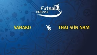 TRỰC TIẾP   Sahako - Thái Sơn Nam  VCK futsal HDBank VĐQG 2019