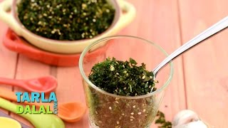 Crackling Spinach By Tarla Dalal