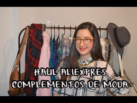 Haul Aliexpress de Complementos de Moda | Tu Moda Online [HD]