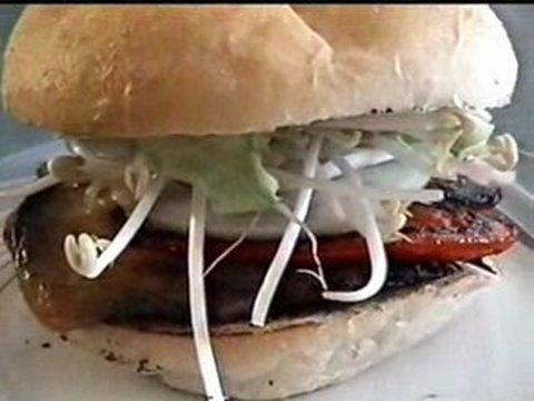 Double Portobello Sandwich