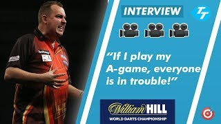 Kim Huybrechts reflects on round one win