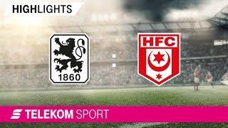 1860 München – Hallescher FC | Spieltag 15, 18/19 | Telekom Sport