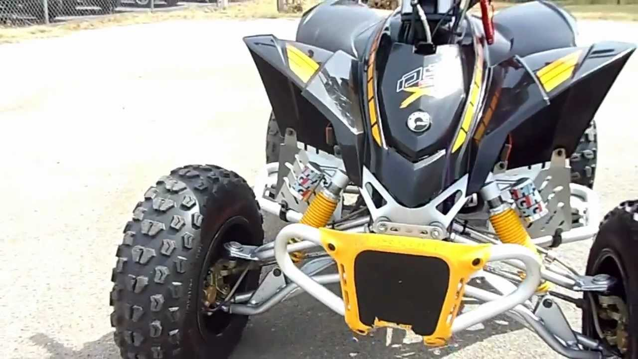 Can Am Parts >> Dream Machines~2008 CAN-AM DS 90 X 4 Wheeler - YouTube
