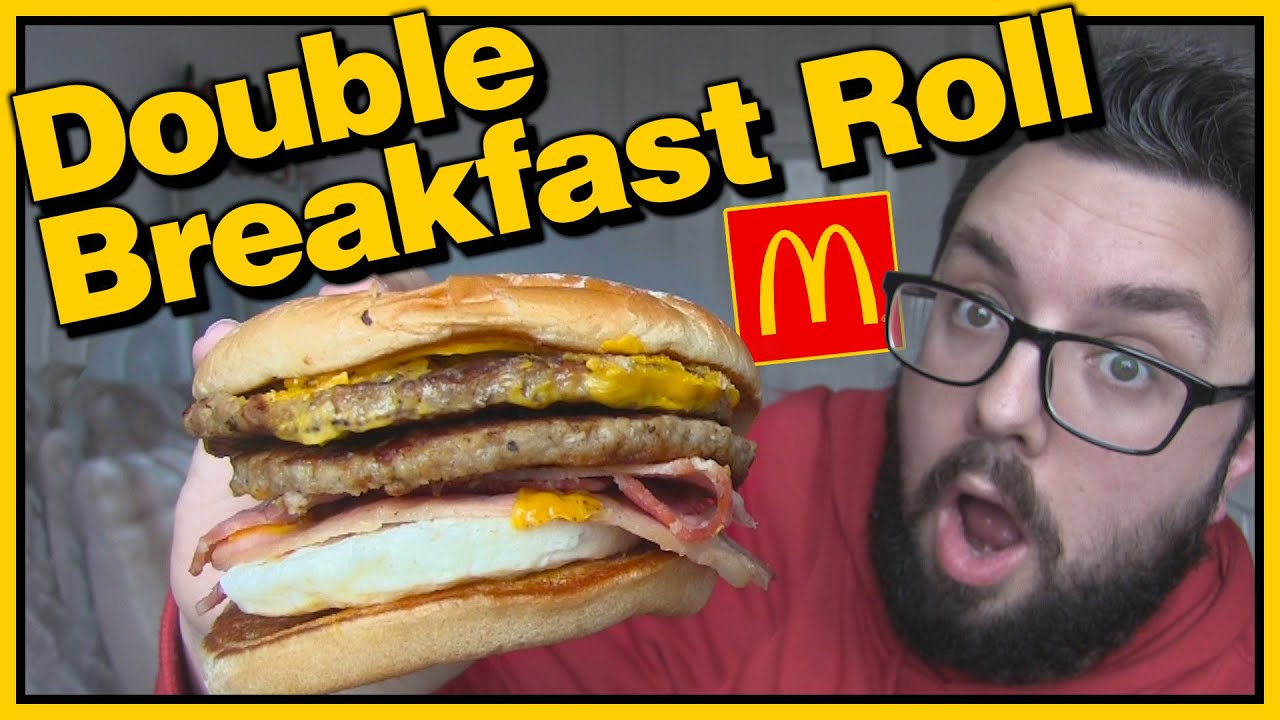 McDonalds Double Breakfast Roll Review