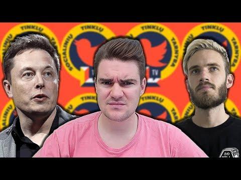 Kas nutiks PewDiePie kanalui? | Elonas Muskas tai bandė antrą kartą! || STT - deMiko || Laisvės TV X