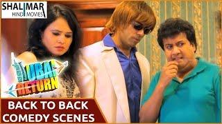 Dubai Return Hyderabadi Movie || Adnan Sajid Khan Back to Back Hilarious Comedy Scenes Part 02
