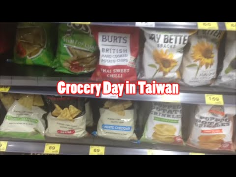 Grocery Shopping in Taiwan VEDS #1