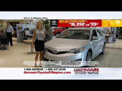 End Of Season Sale At Germain Toyota Of Naples Youtube