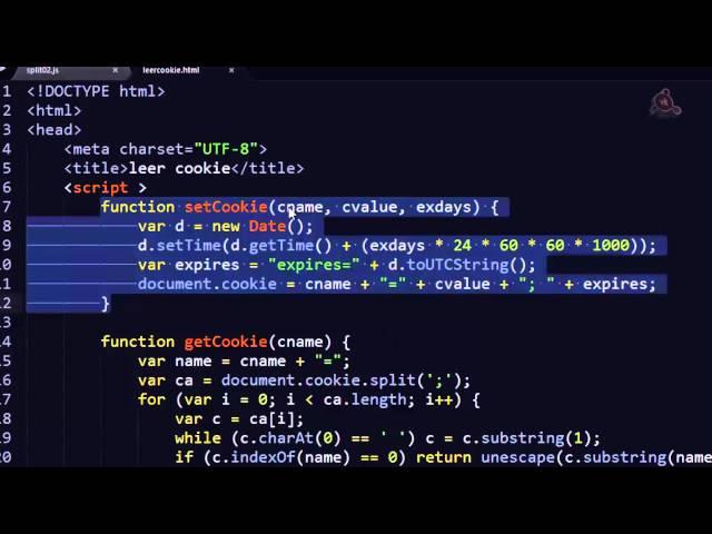 36.- Curso de JavaScript para principiantes. Leer Cookies.