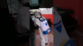 Corona'ya Karşı Tüm Araçlarımız Dezenfekte Edilmekte