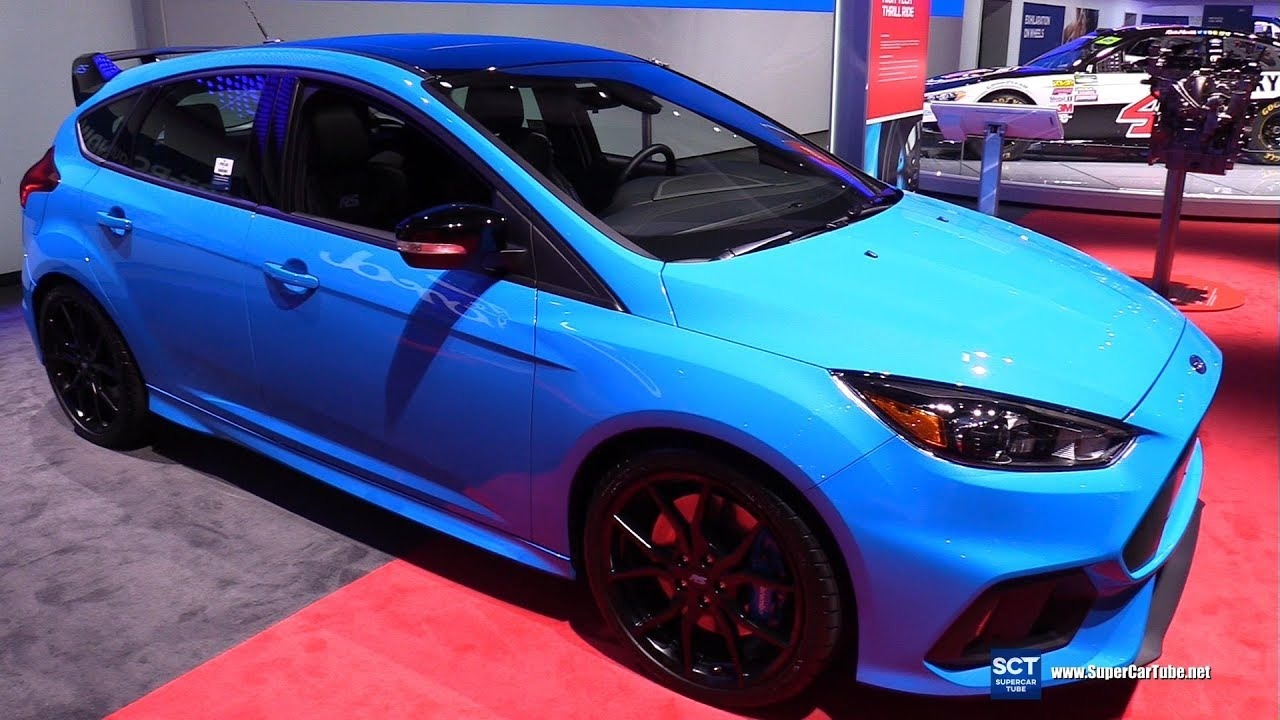 Ford Focus Rt >> 2018 Ford Focus RS Hatch - Exterior and Interior