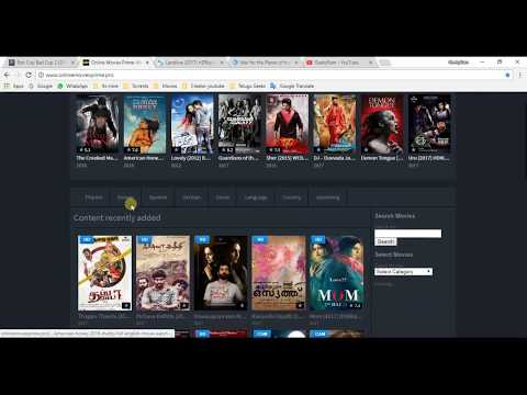 How to watch latest hollywood movies online for free 2017 || Top 3 websites  for HD movies