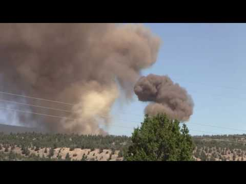 Munitions disposal, July 13, 2016, Hawthorne, NV
