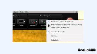 Como Configurar el microfono y Grabar el Audio del sistema Tutorial // Audio // Camtasia Studio