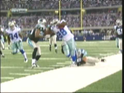 Felix Jones (Dallas Cowboys) jukes Charles Godfrey (Carolina Panthers) Week 3 NFL 2009