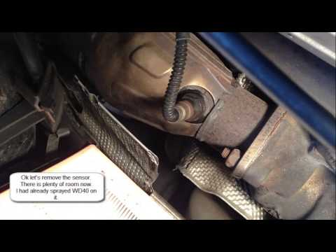 How to remove O2 sensor on 2002 Passat - YouTube